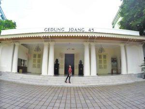 Tempat Bersejarah Gedung Joang kelapa , Jakarta Traveller